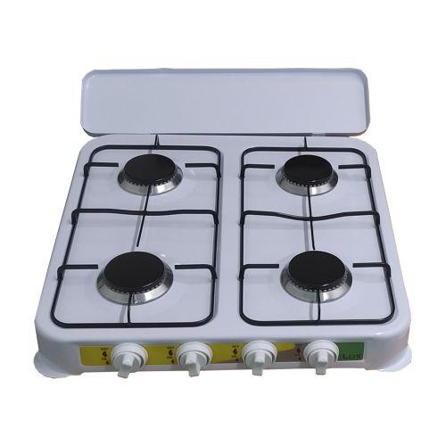 Ilux Cuisinière à Gaz - Réchaud 4 Feux - LXG-4004