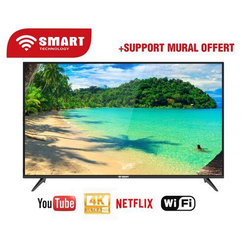 Smart TV 50 Pouces Noir - STT-5050S