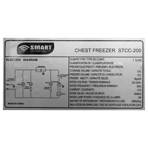 Congélateur Horizontal STCC-200
