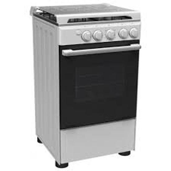 0043928 cuisiniere midea a gaz 5050 04 bruleurs gris 06 mois 550
